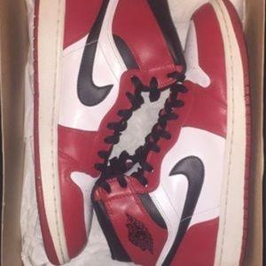 """Air Jordan 1 Retro High OG """"Bred Toe"""" White/Black"""
